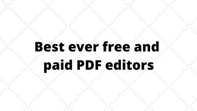 free and paid PDF editors
