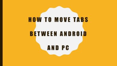How to Move Tabs Between Android and PC