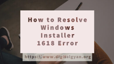 resolve windows installer error