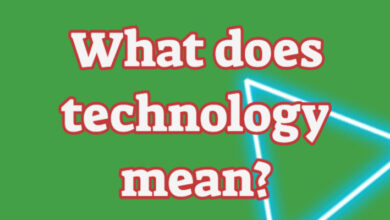what does technology mean