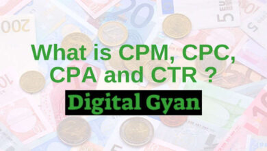 what is cpm, cpc, cpa and ctr