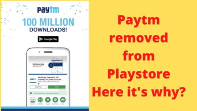why paytm was removed