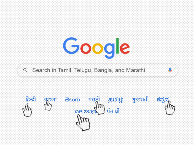 google-indian-languages-search-features